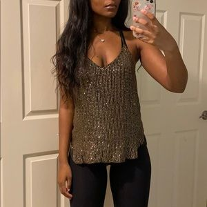 sequin going out top